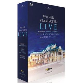 Wiener Staatsoper Live [Riccardo Muti, Daniele Gatti, Philippe Jordan] [Arthaus: 107531] [DVD] [NTSC]